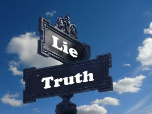 Contrarian considers truth vs lies