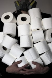 Collect Memories, Not Things - Toilet Paper