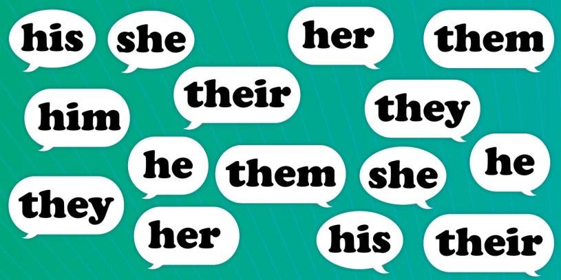 gender identity pronouns